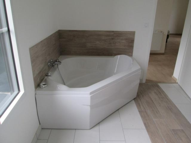 Pose de baignoire